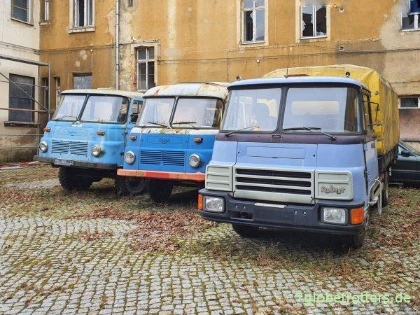 Robur LO 3000 LKW und Bus, LD 3004 Plane Pritsche mit Deutz F4L912