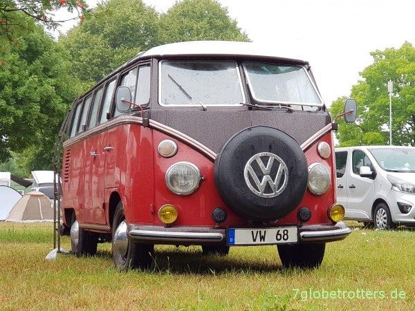 VW T1 mit Pressluftkühlung des Zittauer Chefkonstrukteurs Alfred Haesner