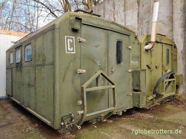 GAZ-66 Allrad, KUNG-Koffer, Ersatzradträger mit Seilzug