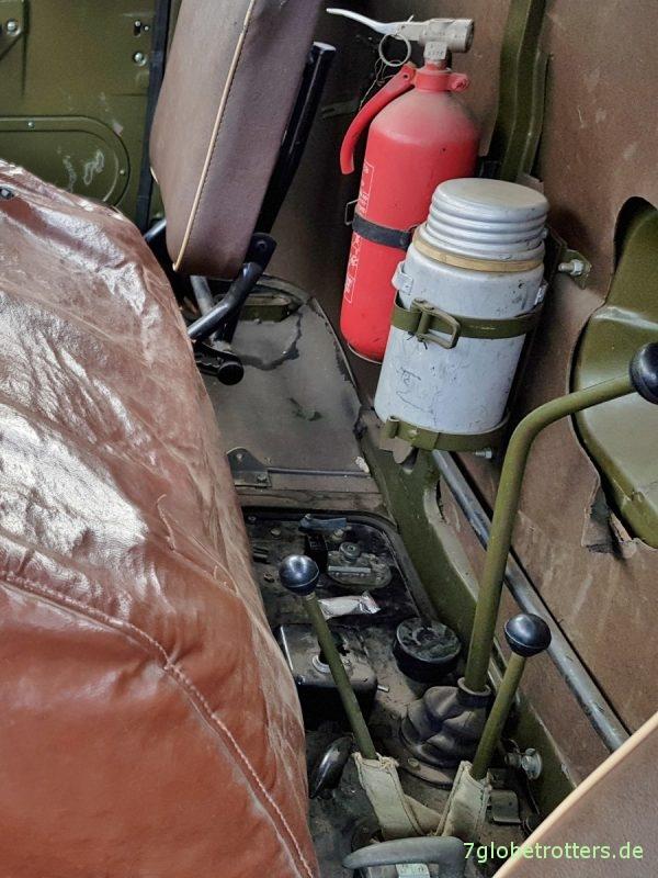 Schalthebel für Getriebe und Verteilergetriebe mit Thermoshalter