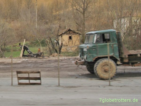 Nach Bulgarien exporteirter GAZ-66 Allrad