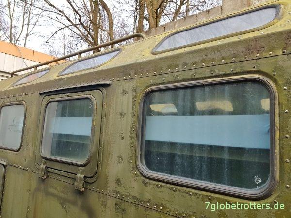 Anordnung der Fenster im KUNG-Koffer des GAZ-66