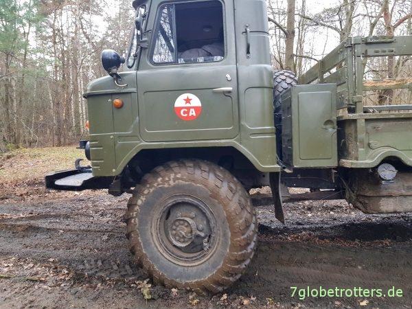 GAZ-66 Schischiga der Sowjetarmee