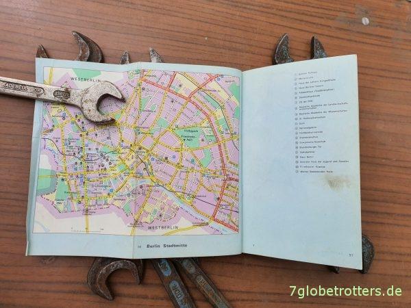 Fehrbellinger Straße, Berlin-Prenzlauer Berg, Haak Verkehrs-Atlas DDR 1972