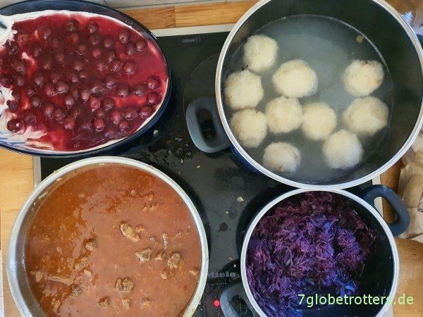 Kochen beim Homeschooling
