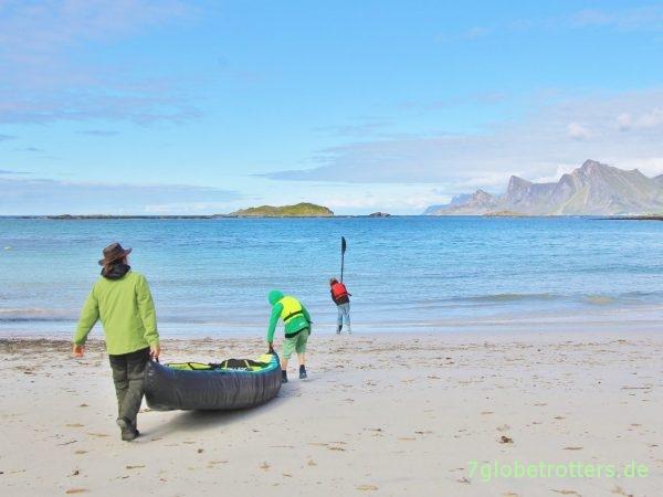 Unser erstes Familien-Kanu: Schlauchkajak Sevylor Ottawa auf den Lofoten