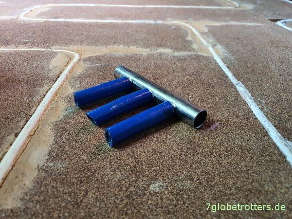 Dreifachverteiler für die Fußbodenheizung von Alde