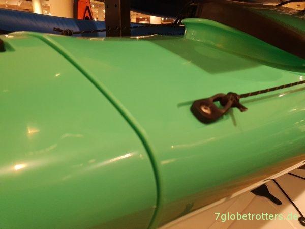 Zerlegbares und stapelbares Segmentboot von Pakayak