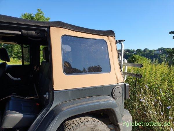 Softtop montieren Jeep Wrangler JK Unlimited, Anleitung und Tipps zum Aufbauen