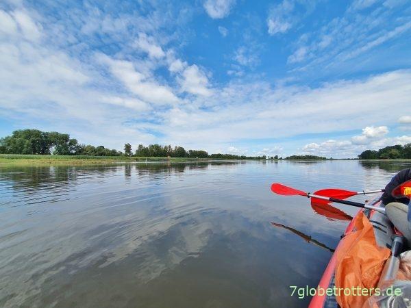 Paddeln auf der Oder von Kienitz durchs Oderbruch nach Hohenwutzen