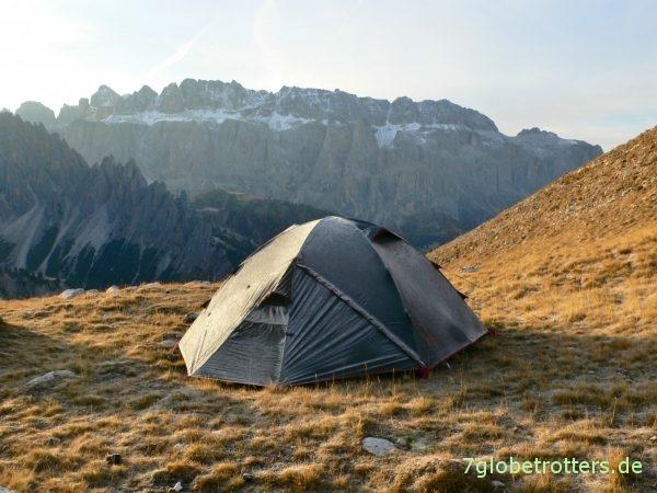 Zeltausrüstung kaufen: 20 Jahre Erfahrung mit 5 Zelten