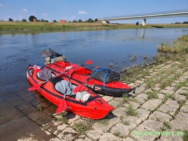 Elbe-Paddeln nach Belgern zu den Schildbürgern