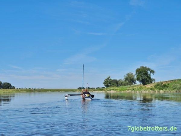 Elbe: Paddeln und Baden zwischen Belgern, Torgau und Greudnitz