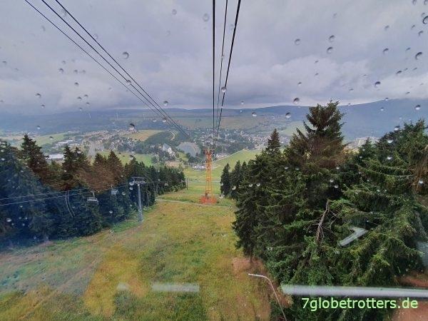 Der Fichtelberg ist mit 1.215 m höchster Berg Sachsens