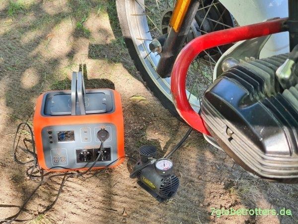 Mobile Stromversorgung im Camper, 12 V Anschluss