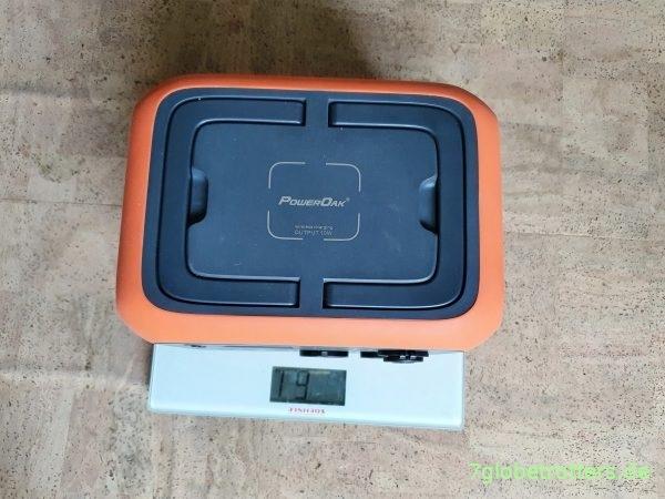 Mobile Stromversorgung im Camper 230 V, Gewicht