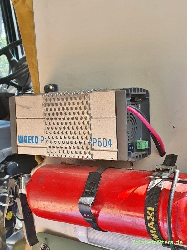 Stromversorgung im Camper, Wandler 24 V auf 230 V