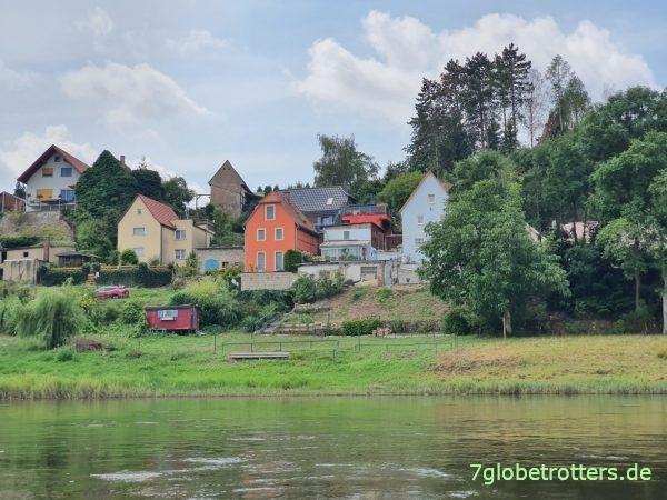 Paddeltour mit Luftkajaks auf der Elbe von Meißen durch die Meißner Weindörfer