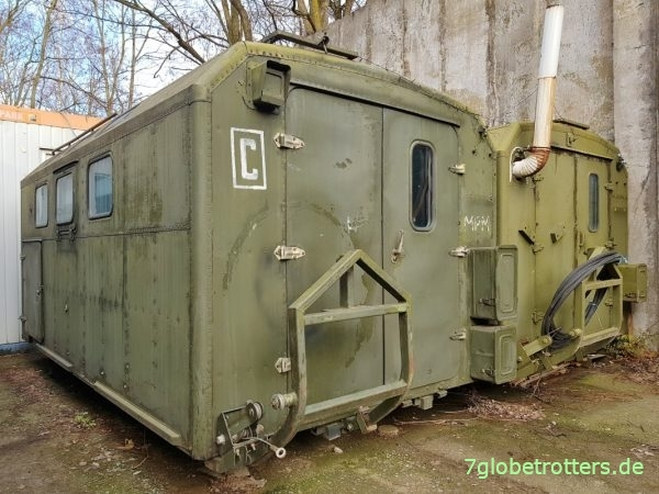 Russenkoffer Kung K-131 und KM-131 für den ZIL-131