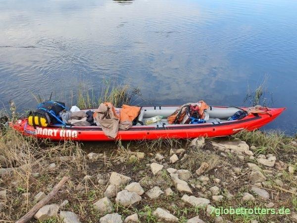 Robuste Gumotex Boote sind bei Vermietungen beliebt