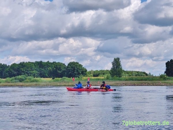Test Gumotex Seawave über 532 km mit 2 Kindern im Wanderkajak