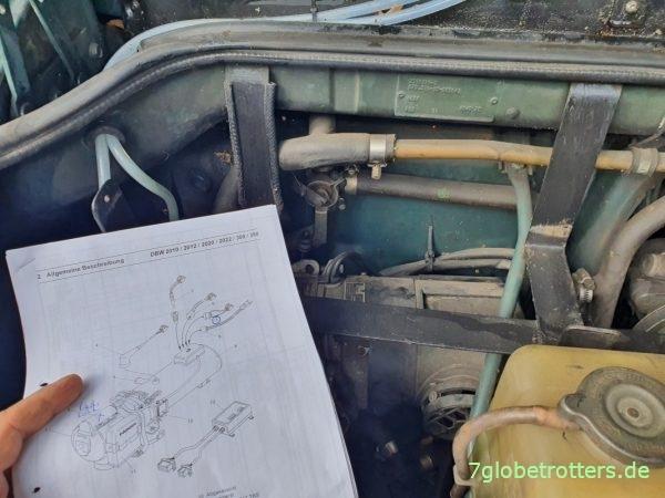 Werkstatthandbuch der Webasto Dieselheizung DBW 2012