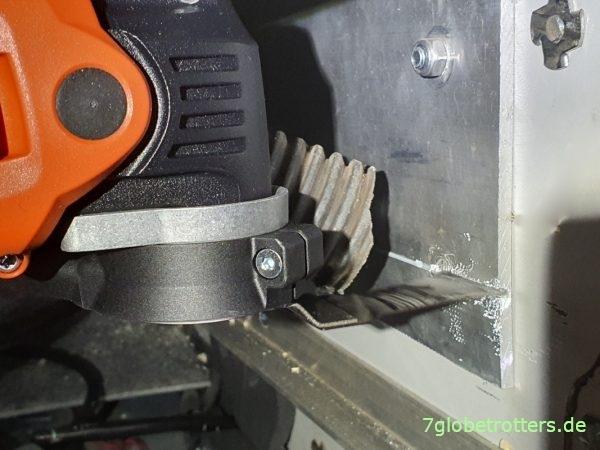Multifunktionswerkzeug-Test: Fein MultiMaster 500 sägt 4 mm Aluminium