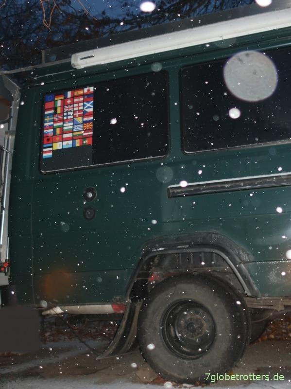 Wohnmobil rechtzeitig vor Frost und Schnee einwintern