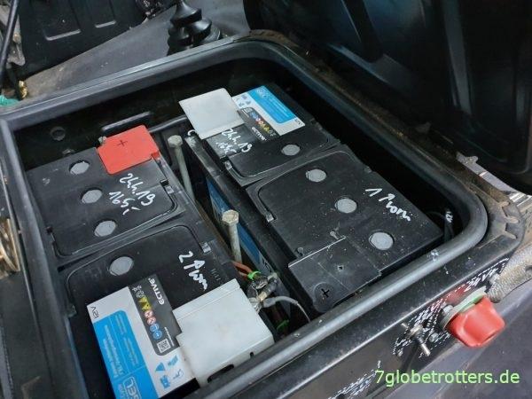 Wartungsfreie Ective Gelbatterien überwintern problemlos