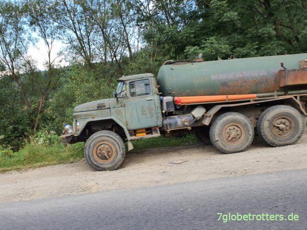 ZIL-131 6x6 Tankwagen in der Ukraine