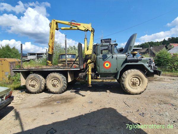 ZIL-131 6x6 in Rumänien, Maramuresch