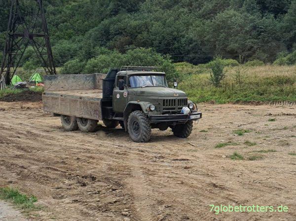 ZIL-131 6x6 in der Ukraine