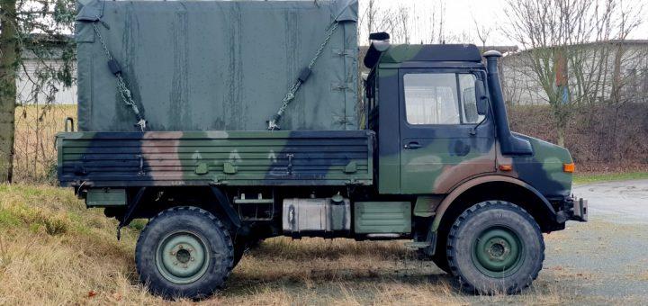 Dornier Shelter kaufen, Unimog mit Alu-Kabine FM1