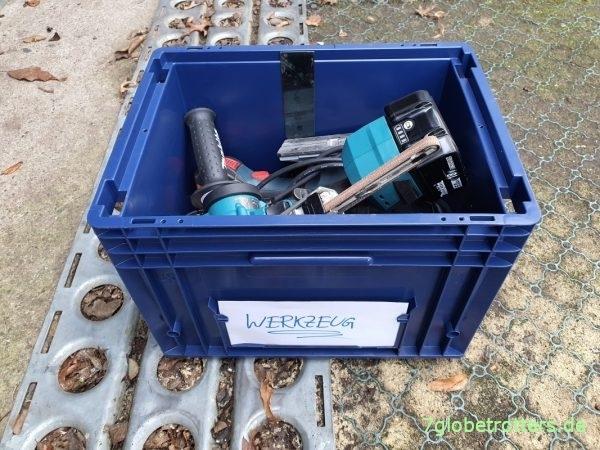 Meine Werkzeug-Eurokiste