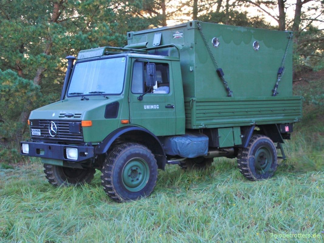 ᐅ Unimog U1300L der Bundeswehr gebraucht kaufen: Daten/Preise 2020    7globetrotters.de