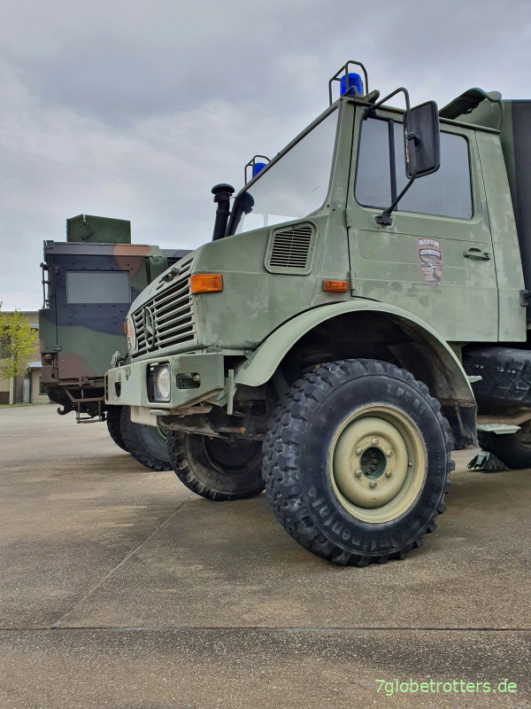 Unimog U1300L SanKra der Bundeswehr, Wartung nach TDv 2320-057-22