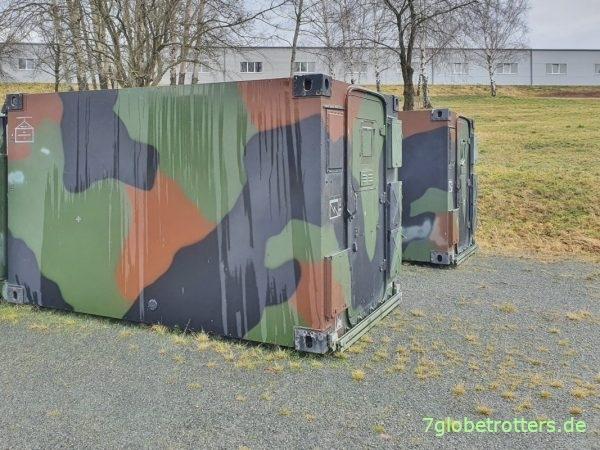 Zeppelin-Shelter kaufen: Ausgemusterte FM1 der Bundeswehr