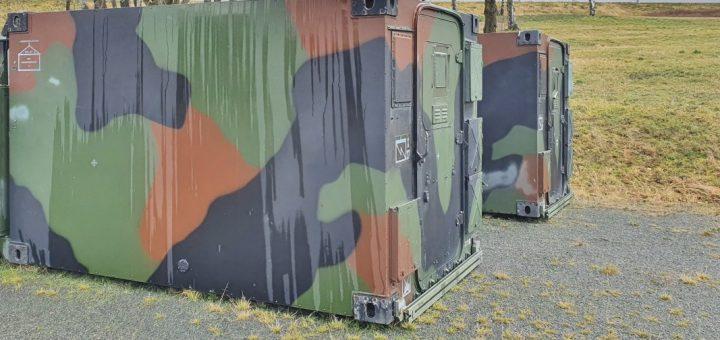 Zeppelin Shelter kaufen, VEBEG-Preise für FM2 der Bundeswehr