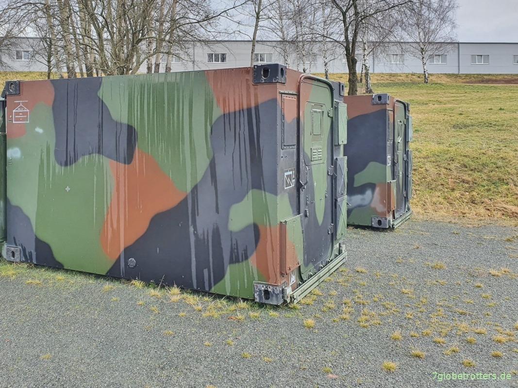 Zeppelin Bundeswehr C-Schiene Erdungspunkt 2 x Masse Punkt M8 Kabine