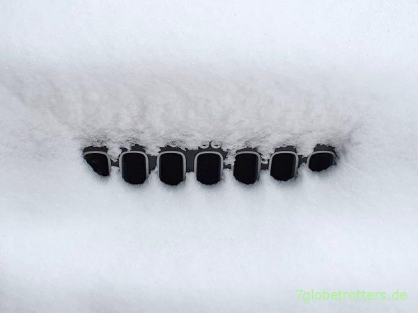 Allrad einschalten am Jeep Wrangler JK nach starken Schneefällen