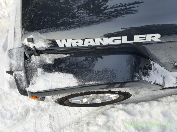 Probleme, Tipps und Tricks beim Allrad einschalten am Jeep Wrangler JK