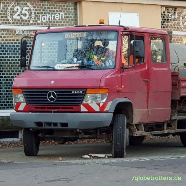 Mercedes 814 D Vario 4x4 Doka Kipper