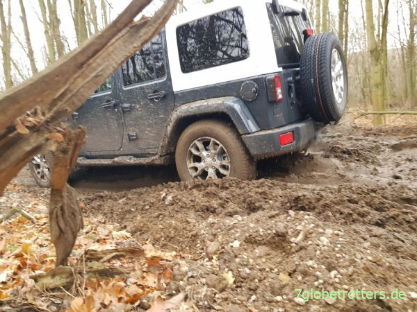 Jeep Wrangler mit Heckantrieb