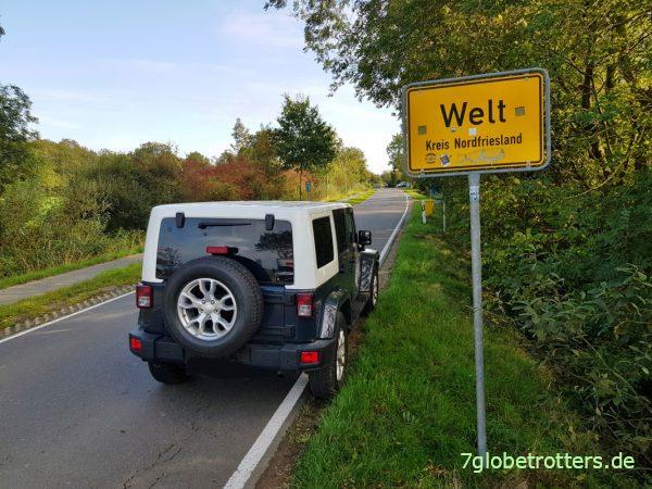 Mit Jeep Wrangler und Matratze auf Welt-Reise