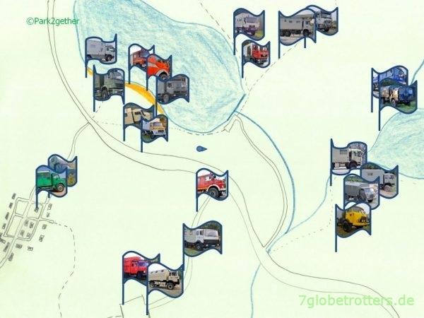 Screenshot von Park2gether: Meine beste Stellplatz-App