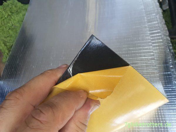 ArmaComfort Barrier B ALU 2 mm für die Schalldämmung im Wohnmobil