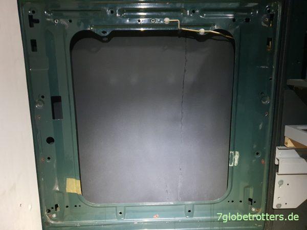 Wärmedämmung der Türen im Wohnmobil mit Armaflex A/F