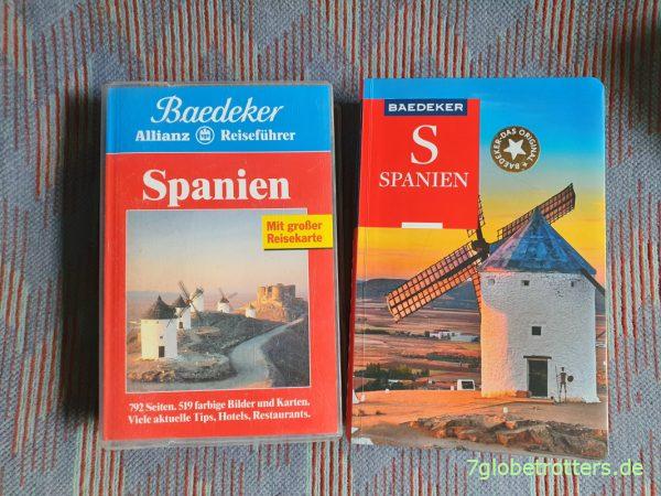 Baedeker Reiseführer Spanien 1997 und 2020