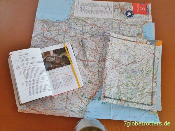 Reiseführer Spanien und Reiseplanung mit dem Baedeker