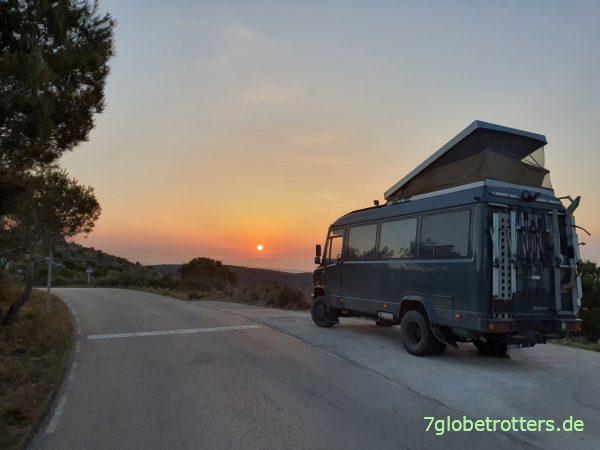 Unterwegs mit dem Reiseführer Katalonien